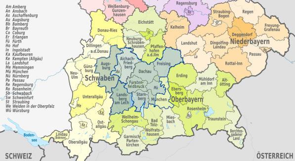 Schlüsseldienst in Bayern